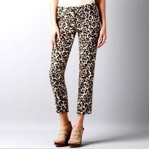ANN TAYLOR LOFT | Marisa | Leopard Print Pants | 8